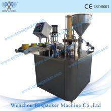 Автоматическая машина для изготовления стаканчиков с кубиками льда для жидкого теста