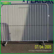customized metal crowd control barrier , portable barricades