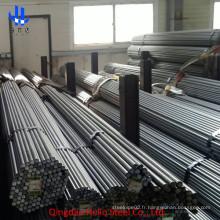 SAE 1020 / SAE 1045 / S45c / S20c / Ss400 Barre ronde en acier étiré à froid