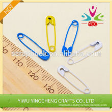 fashion convenient pins embellishment Colorized metal clip metal pins