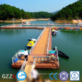 Pontoon for floating high bouyancy plastic jet ski dock in cheap price for good sale