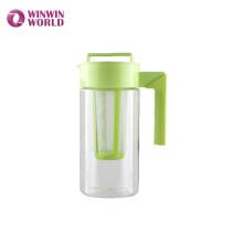 Venda quente BPA Livre à prova de vazamento Tritan Cold Brew Iced Tea Maker Jarra Jarra