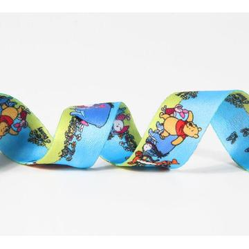 Custom 4cm Printed ribbon elastic tape for garment