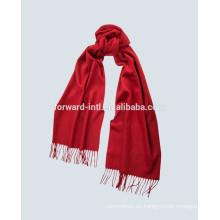 2014 hecho en China bufanda roja de alta calidad de la cachemira