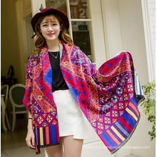 Hot vintage ethnic women,plain infinity scarf wholesale