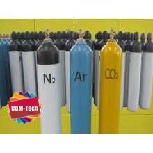 Seamless Steel Argon Nitrogen Oxygen CO2 N2o Gas Cylinders