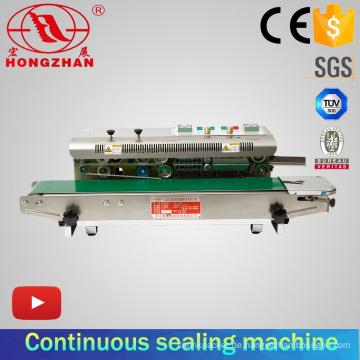 Horizontale Abdichtung Typ kontinuierliche Heizung Dichtungsmaschine mit Ce