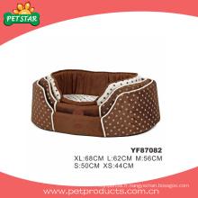 Lit d'animal domestique pour chiens, lits de chien en peluche (YF87082)