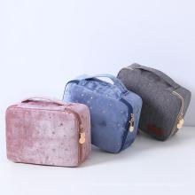 Travel Wash Bag Velvet Cosmetic Bag Cosmetic Lipstick Storage Bag