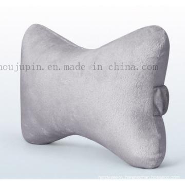 OEM Logo Suede Slow Rebound Car Seat Neck Pillow Cushion