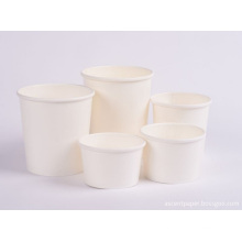 Kraft food container paper bowl