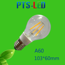 A60 2W 4W 6W 8W 210-900lm Dimmable LED Filament Bulb