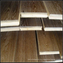 Ahumado y cepillado White Oil Engineered Oak Wood Flooring