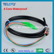 Cable de fibra óptica, Pigtail impermeable