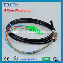 Câble à fibre optique, Pigtail étanche