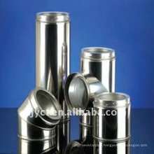 Stainless stove flue pipe