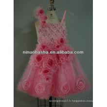 NW-341 2013 Belle robe de fille florissante attrayante