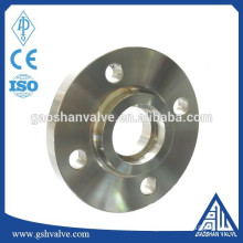 ansi stainless steel water pipe flange