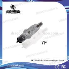 Chirurgische 316 Stahl Permanent Make Up Tattoo Nadeln 7F