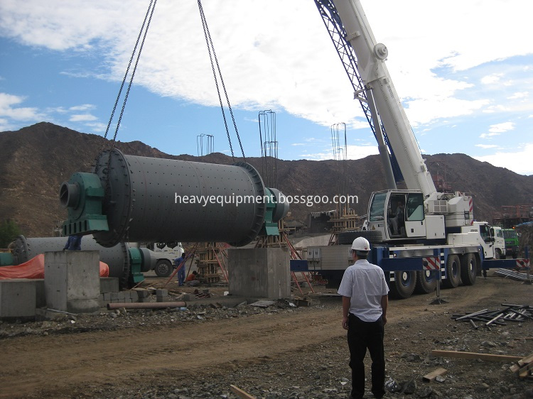 Cement Grinding Plant Ball Mill