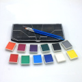 Huge choice of colors face painting kit
