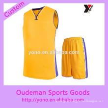 Nova alta qualidade melhor camisa de basquete para homens preço barato uniforme de basquete 2017