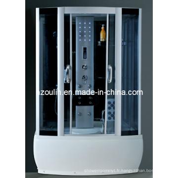 Cabine de douche complète avec vapeur (C-18-138)