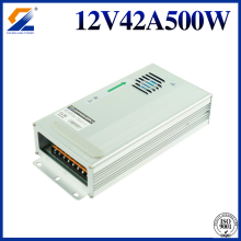 12V 40A 500W Rainproof Converter For LED Module