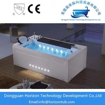 High quality waterfall massage bathtub