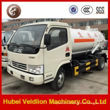 6000 Liter Kapazität Dongfeng Vakuum-Abwasser-Saugwagen