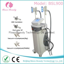 Bsl900-1 2 Cryolipolysis Handles Cavitation RF Fat Freezing Slimming Machine