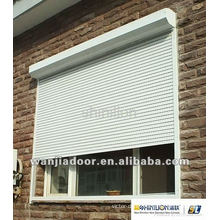 Good price aluminum windows with roller shutters
