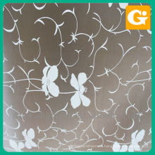 Attractive Wall Sticker Of Deep Color Flower