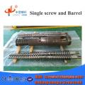 Биметаллический конический двухшнековый цилиндр для экструдера для пластика