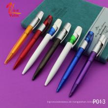 Werbeartikel Rot Farbe Kunststoff Kugelschreiber mit günstigen Artikeln