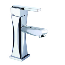 Brass vanity bathroom faucet set short