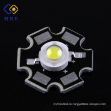 Top-Verkauf 1w High Power LED Datenblatt mit Stern Typ Rohs