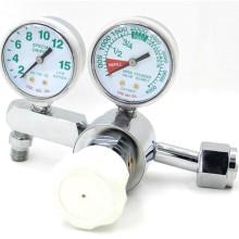 Regulador médico de alta presión de oxígeno con medidor de flujo