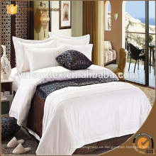 Ropa de cama del hotel de la ESTRELLA del algodón, hojas de cama del hotel, precio de venta entero