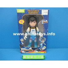 Poupée en plastique de jouet de vente chaude avec la lumière et le bruit (864870)