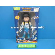 Горячий продавать Пластиковые игрушки куклы с светом и звуком (864870)