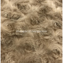 low pile faux fur plush