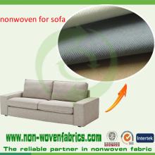 Telas no tejidas aprobadas PP de la prueba de Ikea para alinear el sofá