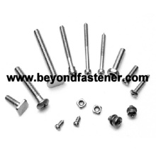 Special Screw Stud Bolts Square Head Screw Fastener
