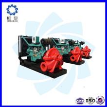Conjunto de bomba de agua de motor diesel portátil / precio de conjunto de bomba de agua diesel