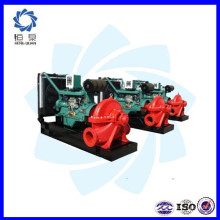 Ensemble de pompe à eau portable à moteur diesel / prix du jeu de pompe à eau diesel