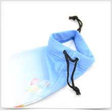 Wholesale Microfiber Transfer Printing Drawstring Phone Pouch