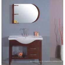 Mobília do armário de banheiro de 100cm (B-202B)