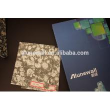 China Panel compuesto de plástico de aluminio del bocadillo de mármol