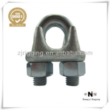 US Drop Forged Cable Clip Galvanized Wire Factory